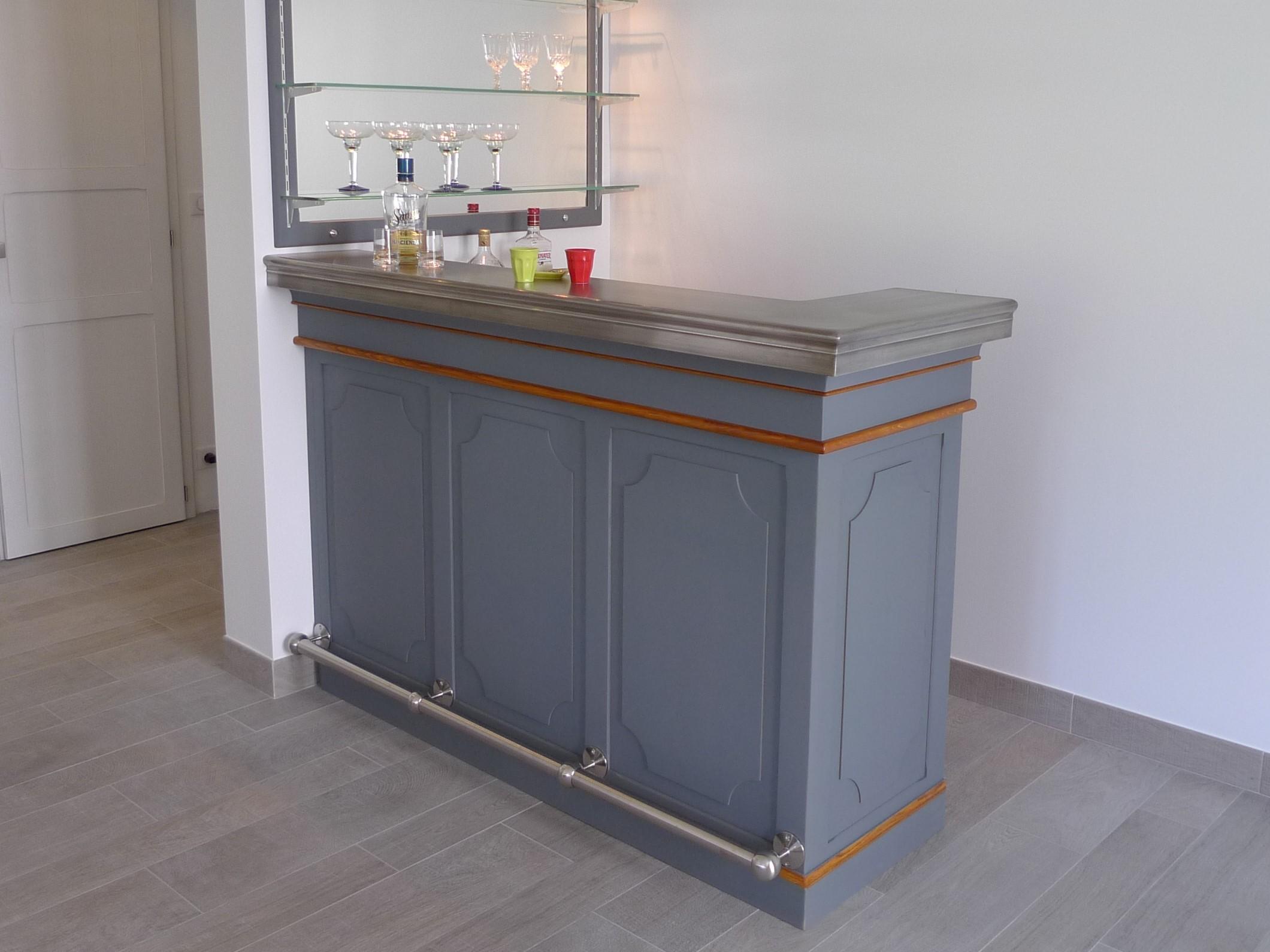 Fabriquer un comptoir de bar stunning fabulous superbe for Comptoir de bar cuisine