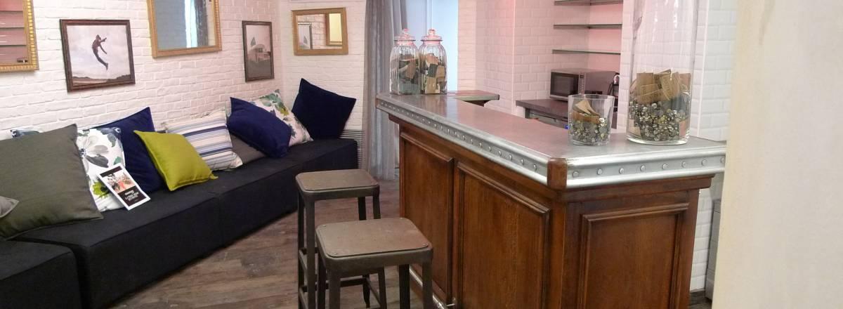 Bar pour salon vip en magasin de mode