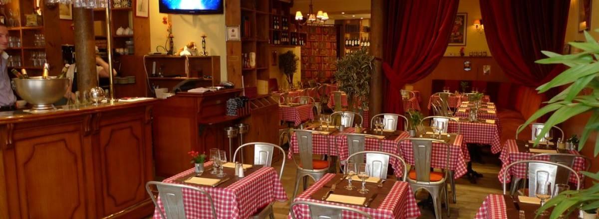 Restaurant le richelieu : vue de la salle
