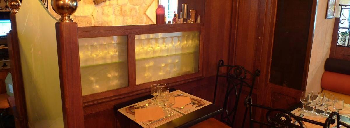 Agencement de restaurant : cloisons de dsicrétion