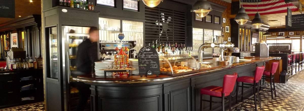 Bar du restaurant beers & co
