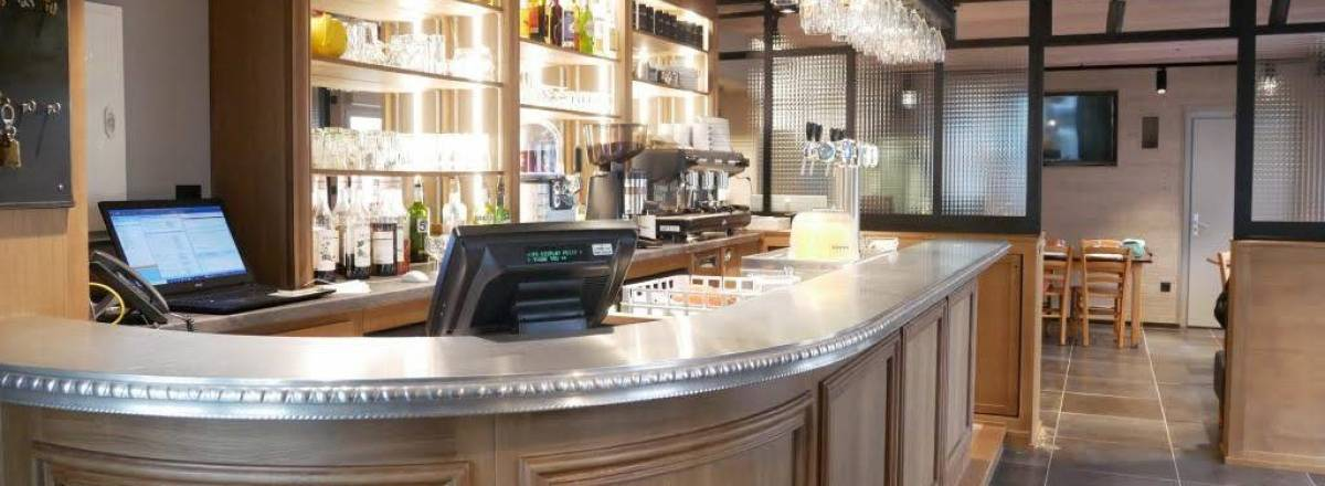 Le bar du restaurant