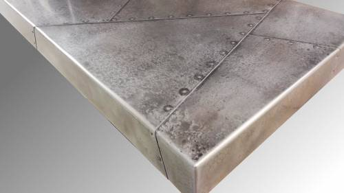 Plan en zinc