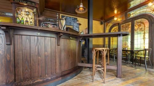 Agencement d'un pub irlandais