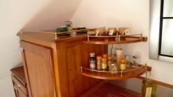 Éléments de la cuisine en bord de mer