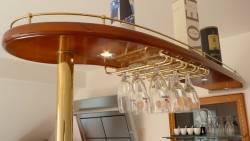 Ciel de bar de la cuisine bord de mer