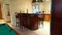 La cuisine normande vue du salon