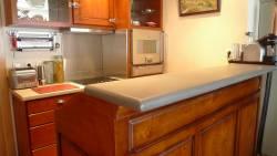 Cuisine bistrot pour petit appartement