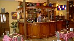 Restaurant le richelieu : vue du bar