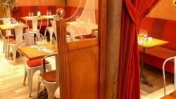 Petite cloison de restaurant