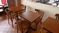 Tables de restaurant en chêne massif