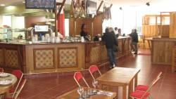 Le bar du restaurant basque