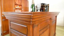 Meuble bar modèle capitole : vue de l'angle