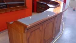 Théatre de stains : le comptoir en zinc