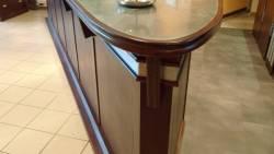 Angle du bar avec détail du zinc