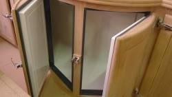 Détail des portes cintrées