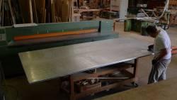 Fabrication du plan en zinc