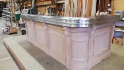 Le bar en fabrication